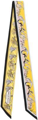 Emilio Pucci Frida print skinny silk scarf