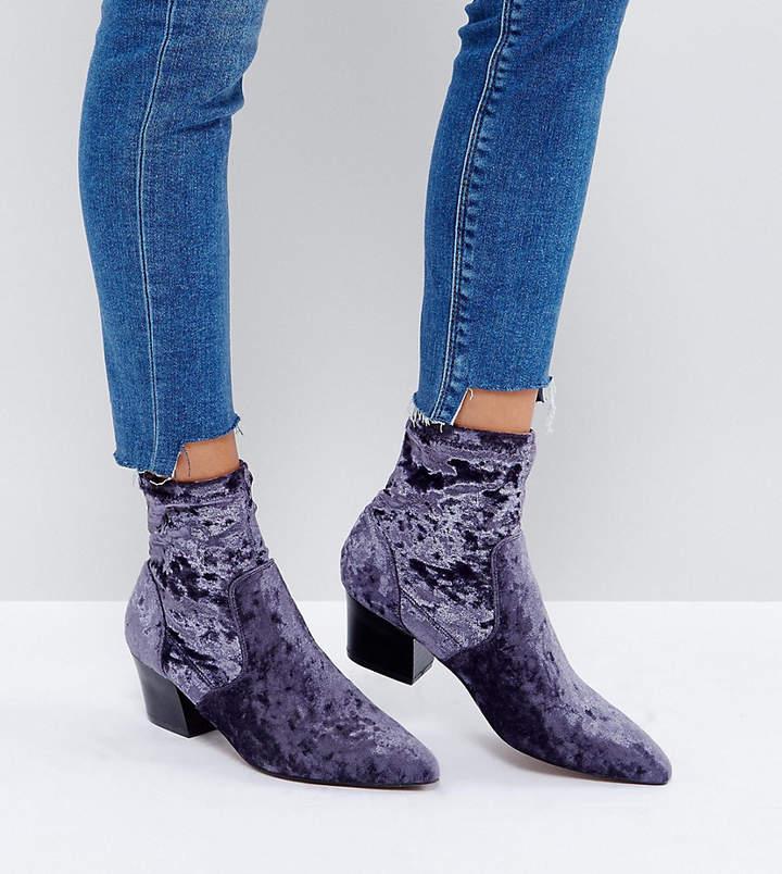 Asos Design Regional Point Sock Boots