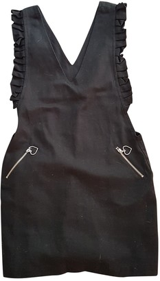 Lazy Oaf Black Cotton Dress for Women