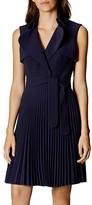 Karen Millen Pleated Trench Dress