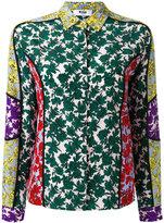 MSGM floral print shirt - women - Silk - 44