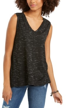 Style&Co. Style & Co V-Neck High-Low Tank Top, Created for Macy's