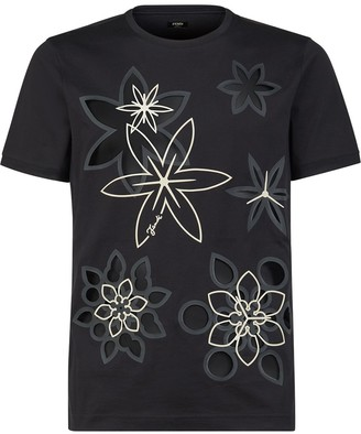 Fendi Kaleido print T-shirt