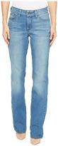 NYDJ Marilyn Straight in Jet Stream Women's Jeans