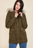 Outdoors Enthusiast Coat in Olive in S
