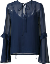 Robert Rodriguez flared sleeves blouse