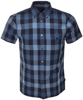 Aquascutum London Luke Check Shirt Blue