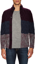Etro Men's Cashmere Cable Knit Sweater