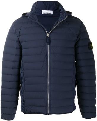 Stone Island Concealed Hood Puffer Jacket