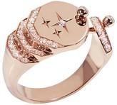 Nouvel Heritage Sparkles Diamond Ring - Rose Gold