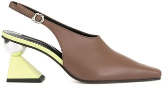 YUUL YIE Pointed Slingback Pumps
