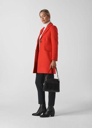 Clara Short Wool Coat
