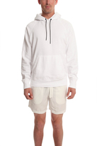 Rag & Bone Racer Hoody Bright White