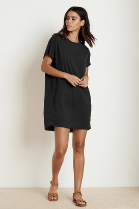 Velvet by Graham & Spencer Annie Cotton Slub T-Shirt Dress