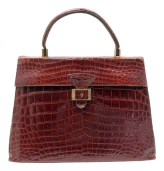 Non Signã© / Unsigned Brown Exotic leathers Handbags