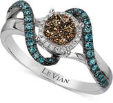 LeVian Le Vian Exotics Diamond Ring (1/2 ct. t.w.) in 14k White Gold