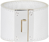 Oxford Tomika Leather Cuff White/Slv