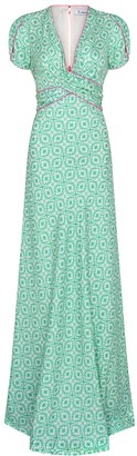 Libelula Long Millie Dress XOX Print