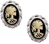 Couture By Lolita Petite Lolita Skeleton Cameo Necklace Earrings Set