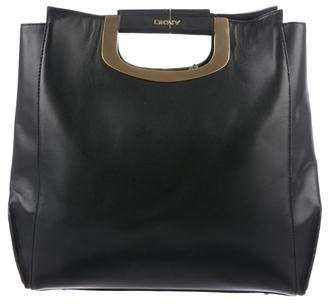 DKNY Leather Handle Tote