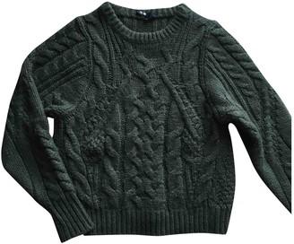 Maje Fall Winter 2019 Khaki Wool Knitwear for Women