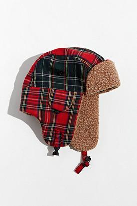 Urban Outfitters Patchwork Trapper Hat