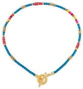 Thumbnail for your product : Gas Bijoux Marceau 24K Goldplated & Silk Necklace