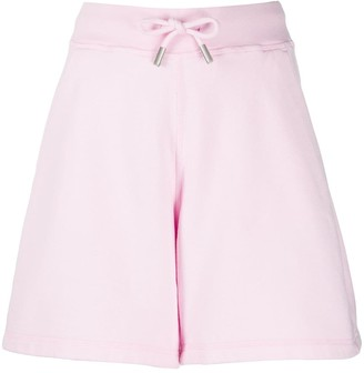 DSQUARED2 High Waisted Jersey Knit Shorts