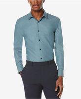 Perry Ellis Men's Classic-Fit Performance Wrinkle-Resistant Dress Shirt