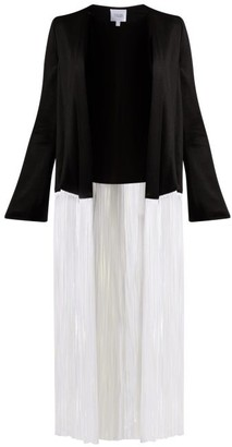 Galvan Dusk Fringed Jacket - Black White