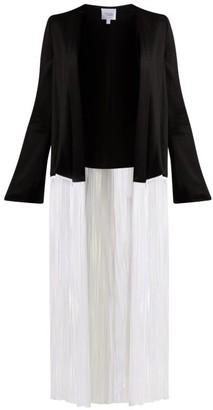 Galvan Dusk Fringed Jacket - Womens - Black White