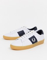 Fred Perry spencer leather sneaker with rubber sole