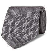 Ermenegildo Zegna 8cm Silk-Jacquard Tie