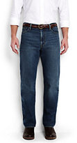 Classic Men's Ring Spun Traditional Fit Jeans-Deep Sea Blue
