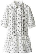 Dolce & Gabbana Tropical City Long Sleeve Dress Girl's Dress