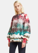 Acne Studios Women's Yana Oil Sweatshirt in Multicolour