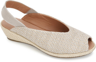 Gentle Souls By Kenneth Cole Luci Slingback Cork Wedge Sandal
