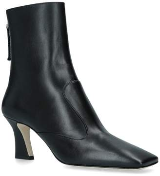 Fendi Leather Ankle Boots 45