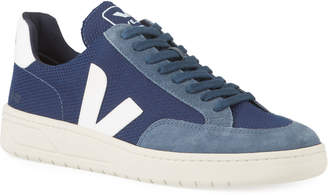 Veja V12 Lace-Up Mesh Sneakers