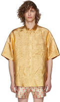 Gucci Gold Lurex Shirt