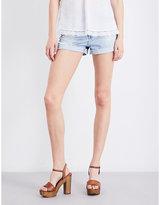 AG Jeans The Alex boyfriend-fit mid-rise denim shorts