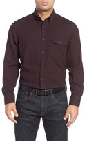 Nordstrom Herringbone Sport Shirt (Big)