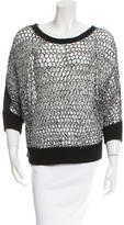 Tess Giberson Crochet Mesh Sweater w/ Tags