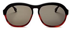 Le Specs Luxe Unisex Burnout Aviator Sunglasses, 58mm