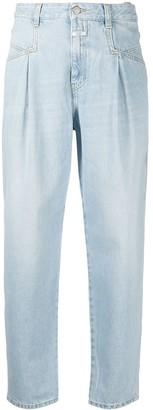 Closed High Rise Straight-Leg Jeans
