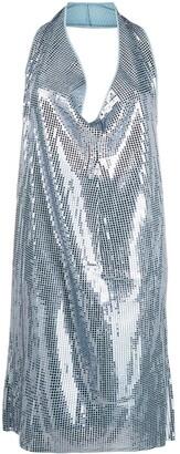 Bottega Veneta Cowl-Neck Sequinned Mini Dress