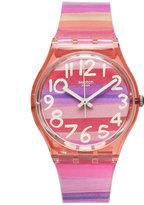 Swatch Watch, Unisex Swiss Astilbe Multi-Color Plastic Strap 34mm GP140