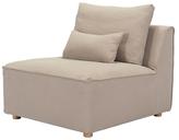 ZUO California Cotton & Linen Single Chair