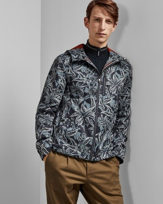 Ted Baker PASO Printed floral cagoule