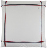 Tommy Hilfiger White Couture Trim Pillowcase - 65x65